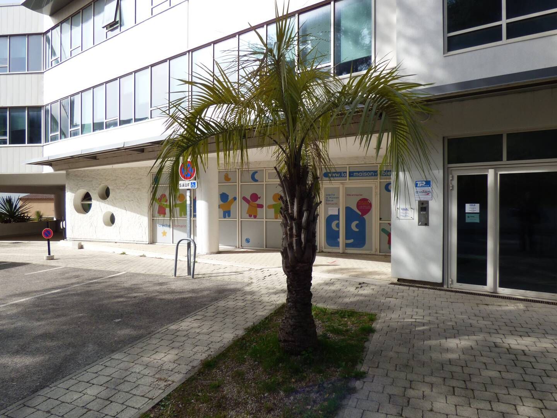 """La crèche privée des Romarins gérée par Maison bleue à Technopolis, où la commune dispose de 30 """"berceaux"""" ."""