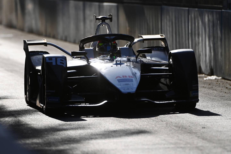 Edoardo Mortara a trouvé d'entrée le chemin du podium.