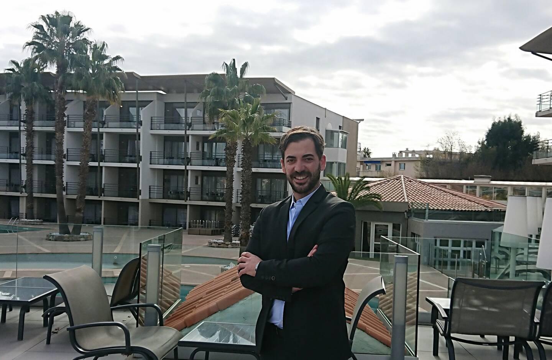 Sébastien Clemente, président du campus Côte d'Azur d'Ici-Icare.