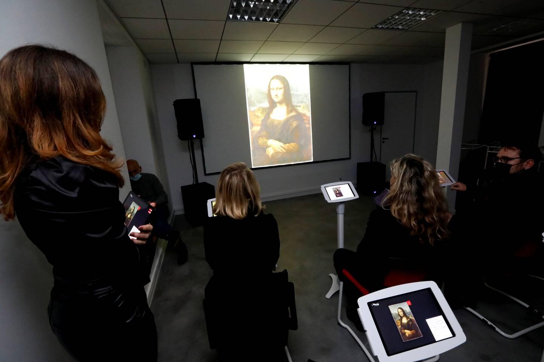 À l'école des Beaux-arts de la Seyne, le dispositif est déjà en place. Il permet d'approcher des chefs-d'œuvre nationaux par le biais du numérique.
