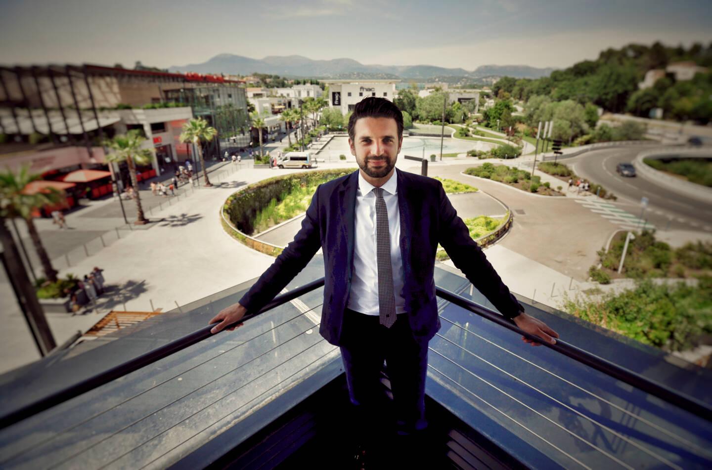 Hugo Rey, directeur de Polygone Riviera.