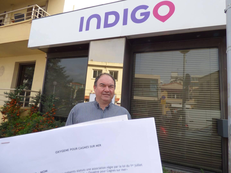 Philippe Touzeau-Ménoni a lancé une association qui appelle les usagers à lui signaler les dysfonctionnements du stationnement payant sur voirie à Cagnes-sur-Mer.