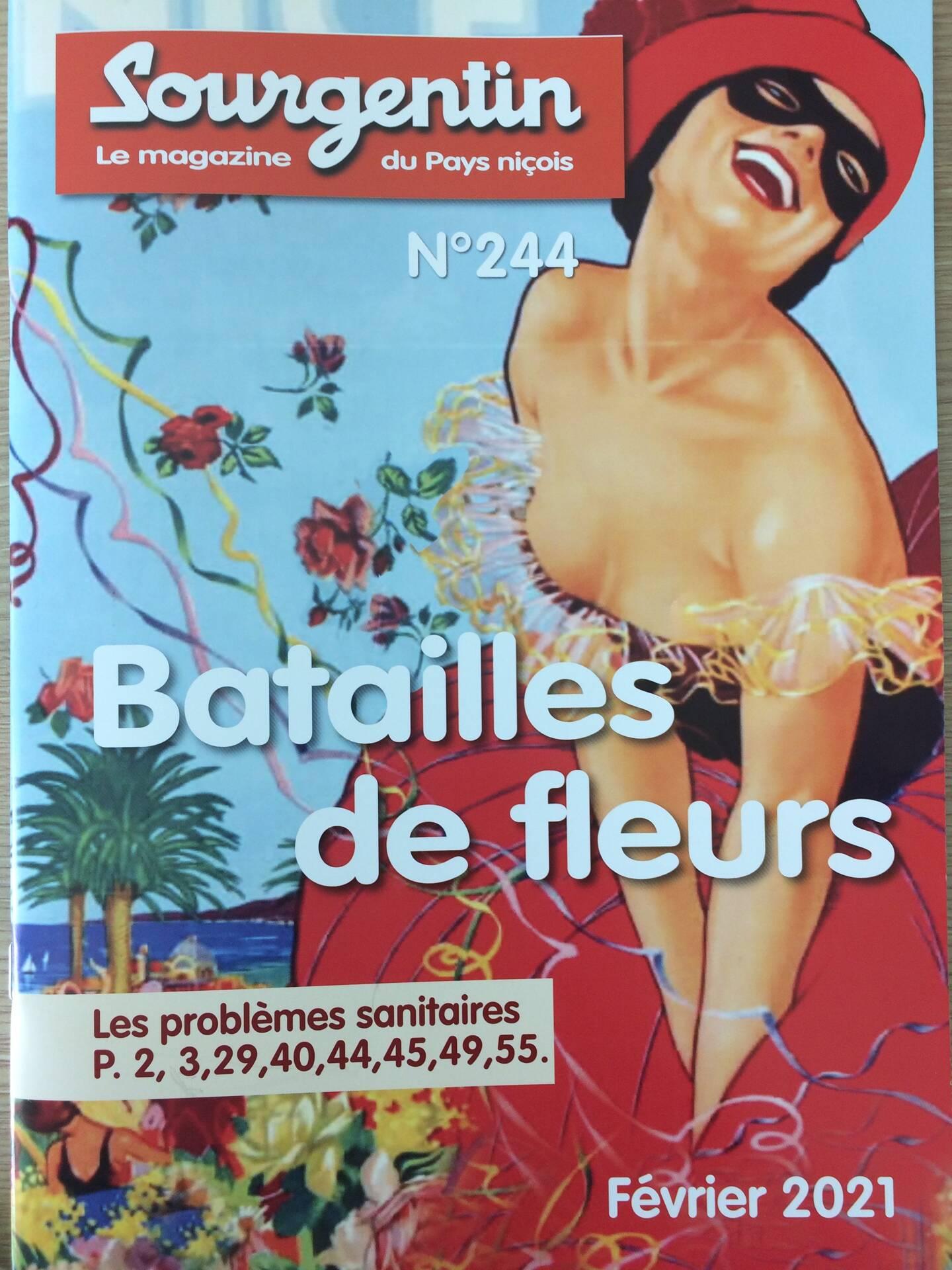 Le numéro consacré aux batailles de fleurs est actuellement en vente.
