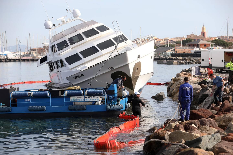 Le 19 mars prochain, l'épave de l'Ipsum, yacht qui s'était échoué en mai 2019, ne sera plus qu'un mauvais souvenir pour les Tropéziens.