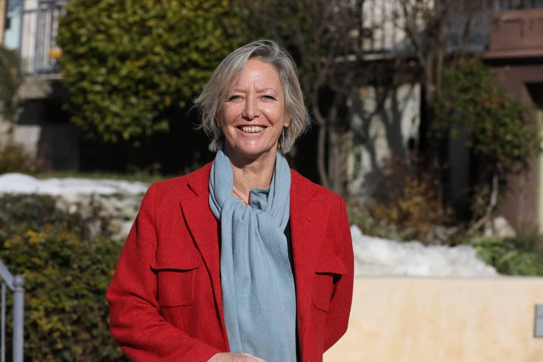 Sophie Cluzel en janvier dernier, lors d'une visite dans la Roya.