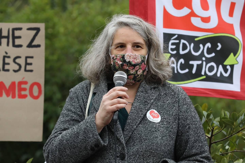 Céline Vaillant, secrétaire départementale FCPE 06.