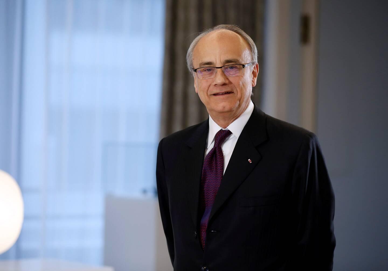 Le président-délégué de la Société des Bains de Mer, Jean-Luc Biamonti.