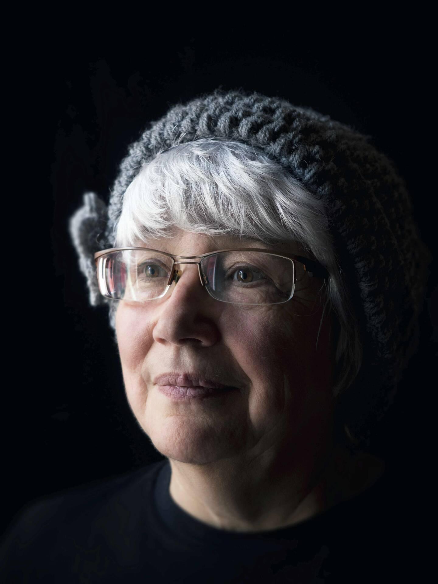 Nicole Reynaud, professeure à la retraite à Tende.