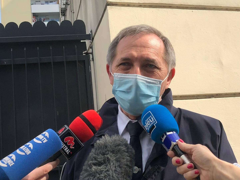 Jean-Michel Porez, directeur départemental de la sécurité publique.