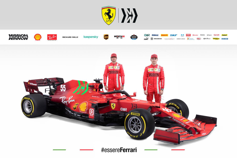 Charles Leclerc et Carlos Sainz prendront en main la SF21 dès le week-end prochain à Bahreïn.