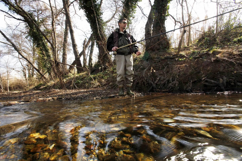 L'ouverture de la pêche à la truite est fixée le deuxième week-end de mars.