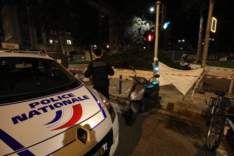 La violente agression au couteau s'est produite devant la place des Cigalusa, rue Barla.