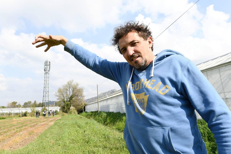 """Franck Bourgeois a imaginé """"un truc provocant et plein d'humour pour faire passer le message""""."""