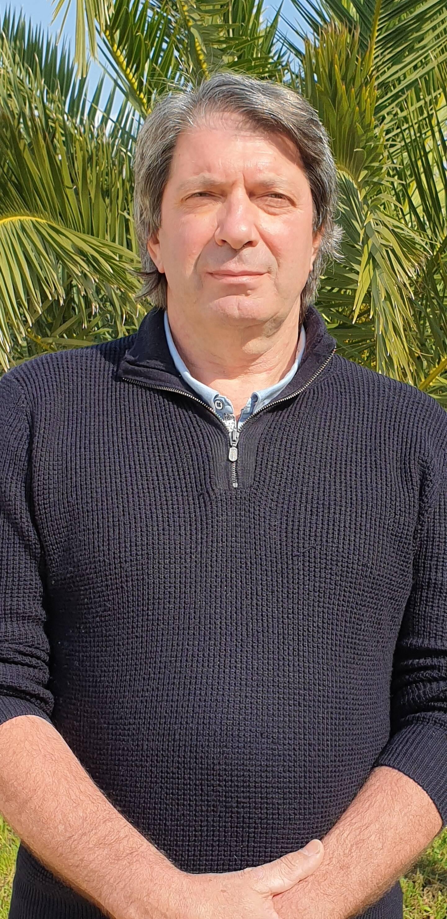 Jean-Claude Véga , président de Phila-Flor et Hyères Hortipole