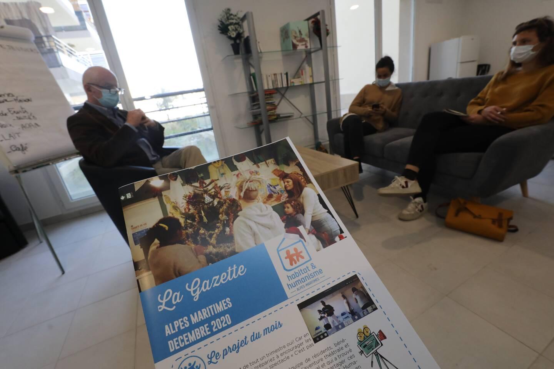 L'association Habitat et Humanisme prévoit toujours une salle de convivialité, où les résidents peuvent manger, organiser des activités.