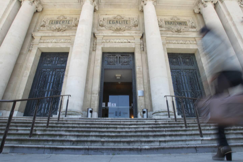 Le palais de justice de Toulon.
