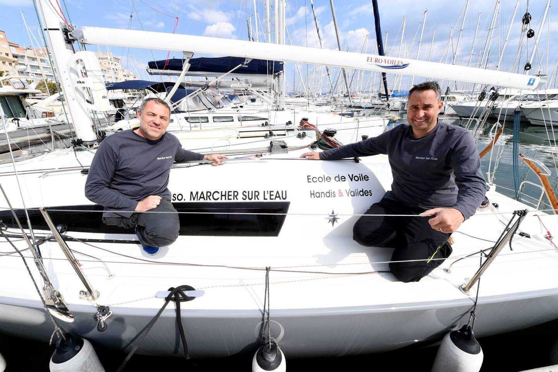 Benoit David (à g.) et Guillaume Barnet (à d.) en appellent à des potentiels partenaires pour les soutenir dans leur projet de boucler la Transquadra.