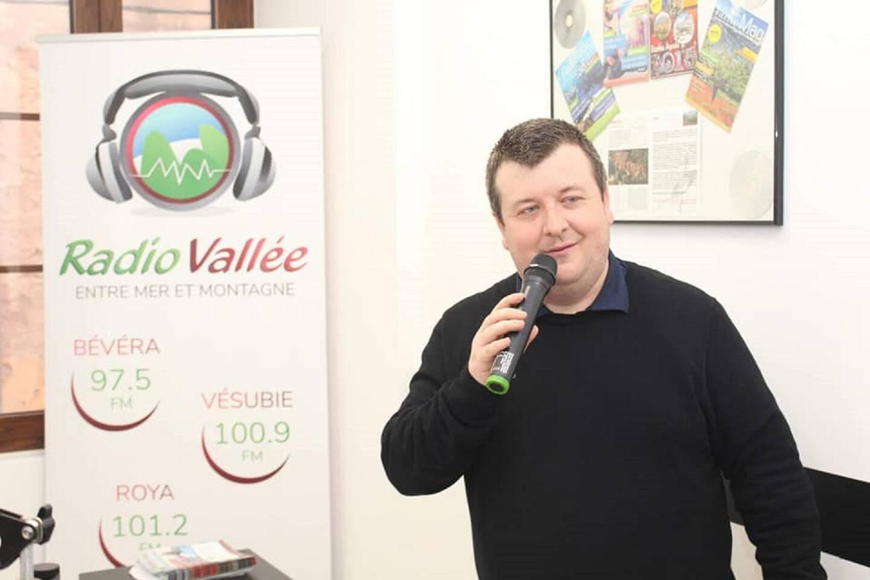 Laurent Brochet est le président bénévole de Radio Vallée depuis 14 ans. (Photo DR)