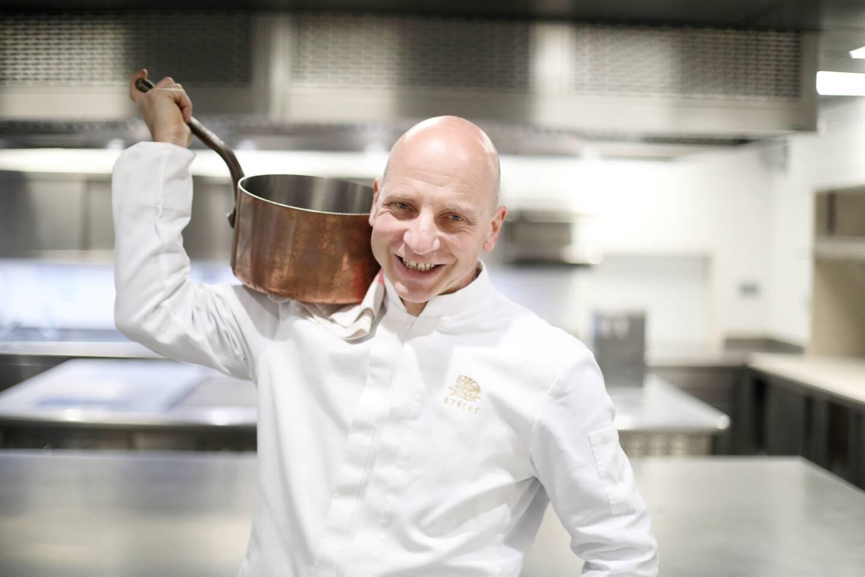 Le chef Nicola Canuti