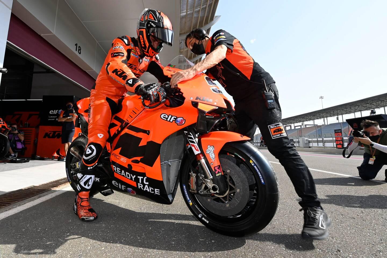 Danilo Petrucci passe à l'orange chez KTM-Tech3.