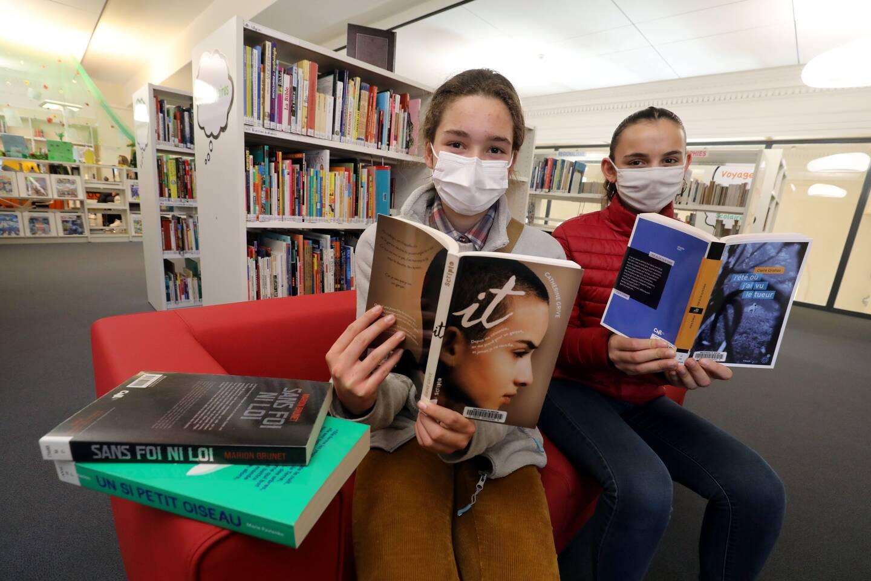 Marie et Lucie ont déjà lu les cinq romans en lice pour le Prix.