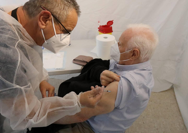 La vaccination s'adresse surtout aux + de 65 ans. Photo C.D.