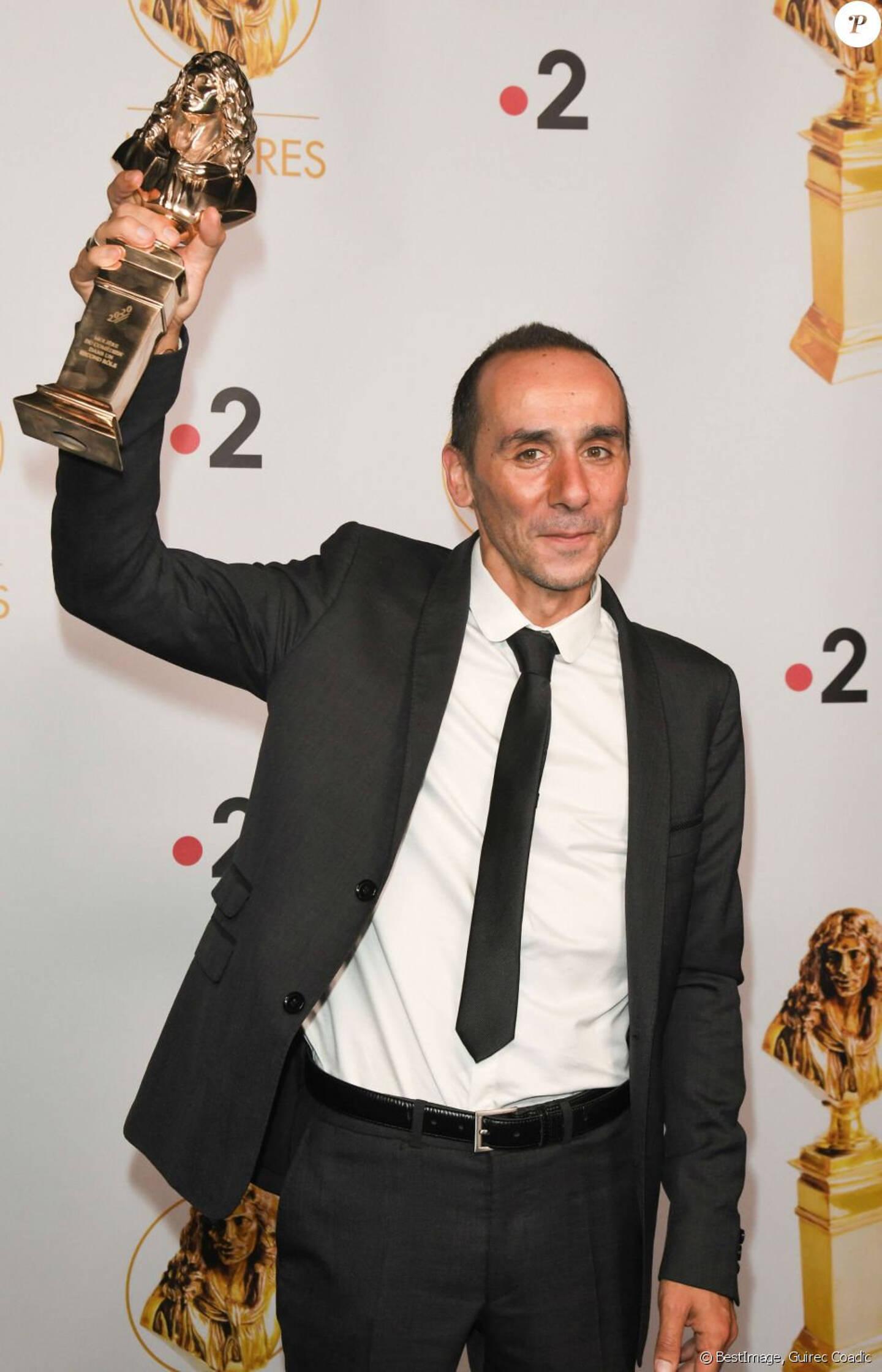 Le Villeneuvois Jean Franco, lauréat des Molières l'an dernier.