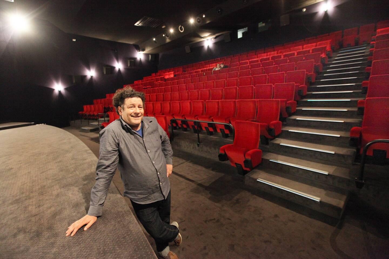 Jean-Marie Charvet bien esseulé dans son cinéma.