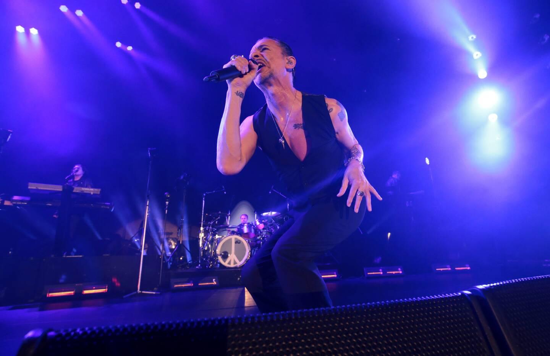 Depeche Mode, le 4 mai 2013. C'est à Nice qu'a été lancée leur tournée Delta Machine.