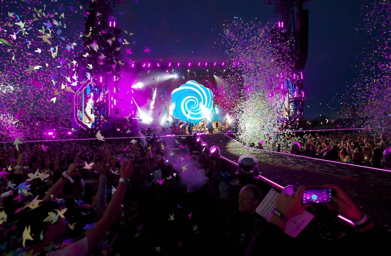 Le 24 mai 2016, pour sa deuxième venue au Nikaïa, le groupe Coldplay a remporté le record d'affluence avec 56.000 spectateurs!