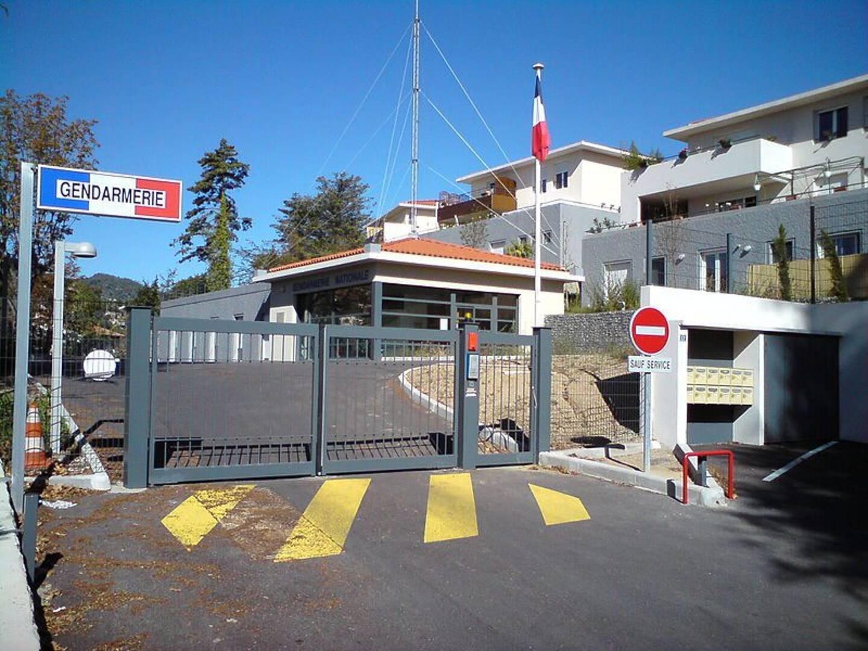La gendarmerie de Levens.