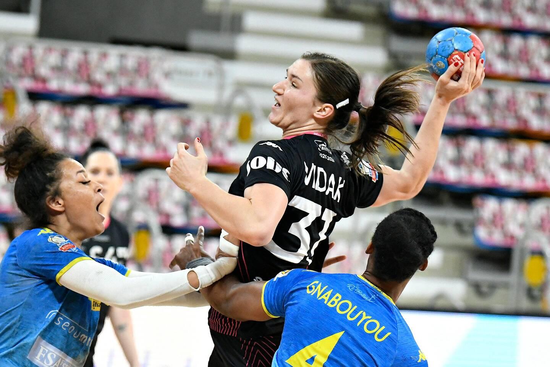 Avec ses six buts, Marijeta Vidak, la joker médical de Fleury arrivée en janvier, a fait mal au TSCV hier après-midi.