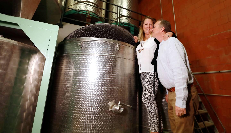 Adeline et Renaud de Barry ont racheté la Liquoristerie de Provence il y a trois ans.