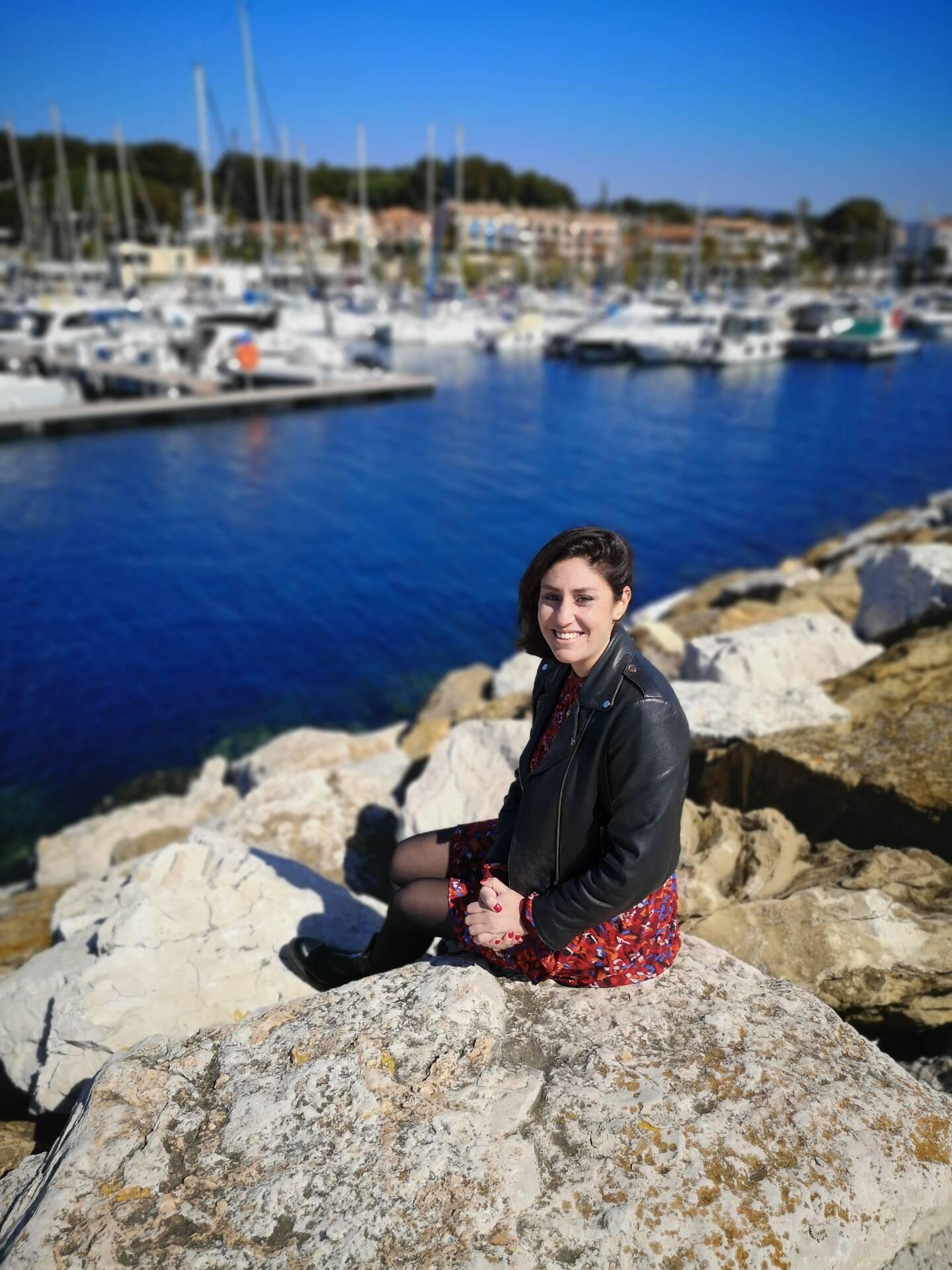 Sabrina Ciavatti, ex-pivot de Toulon/Saint-Cyr et actuelle vice-présidente de l'Association des joueurs professionnels de handball. (Photo V. B.)