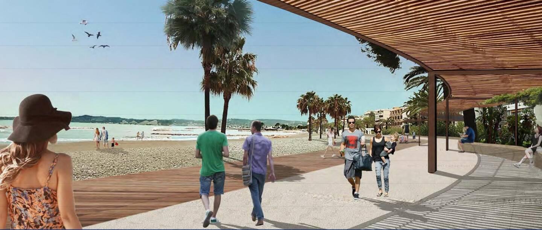 Voici à quoi devrait ressembler la promenade Lansberg à Saint-Laurent-du-Var après les travaux d'aménagements et de réhabilitation.