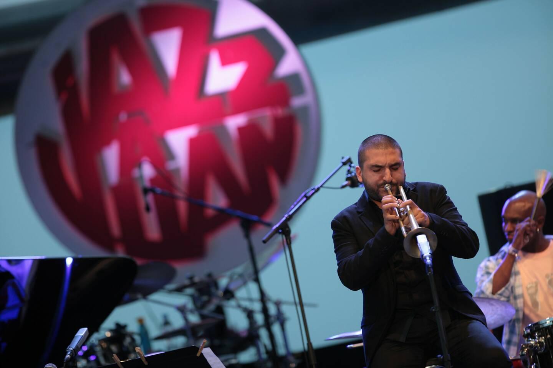 Ibrahim Maalouf sera la star de la soirée de clôture de la soixantième édition de Jazz à Juan. (DR)