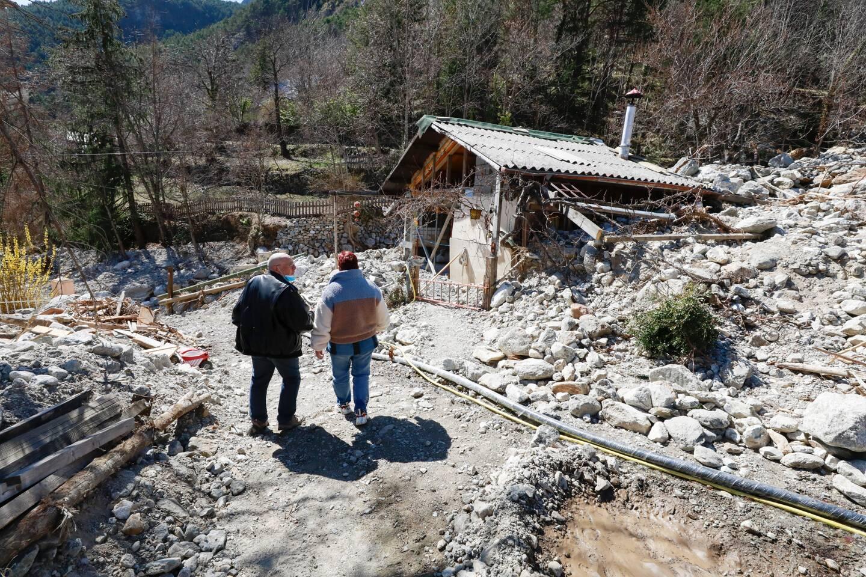 Saint-Martin-Vésubie déplore le plus de maisons détruites.