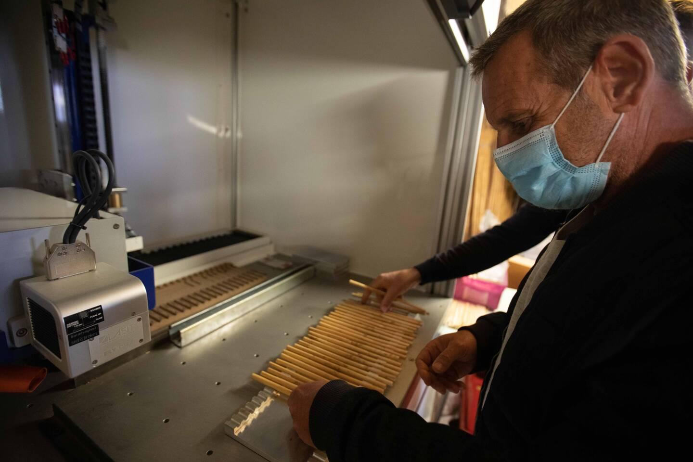 Les Pailles de Provence sont produites dans l'atelier Rigotti.