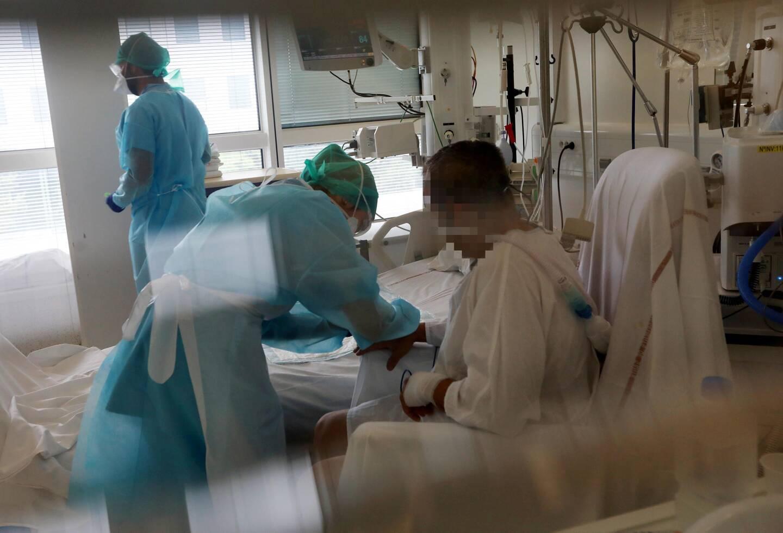 La pression diminue sur les services de réa des Alpes-Maritimes mais ils risquent d'accueillir des patients transférés depuis els départements voisins.
