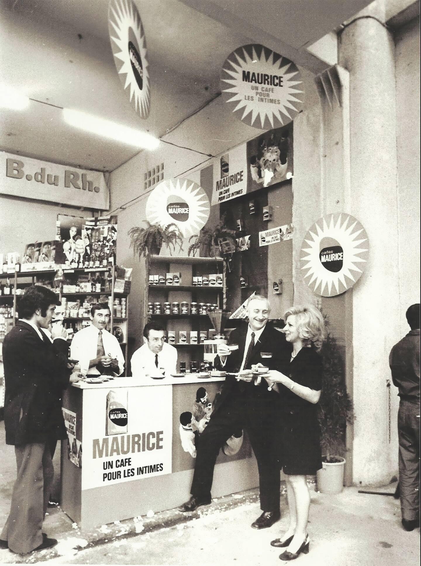 Stand à la Foire de Marseille.