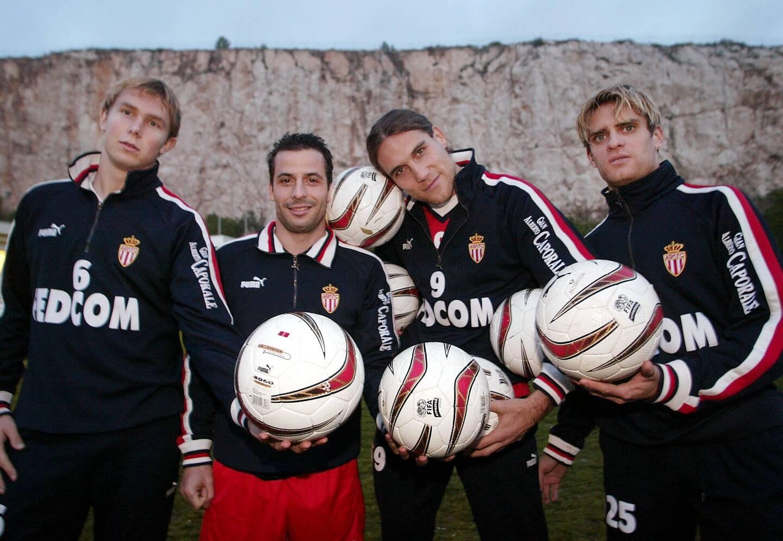 2002-2004: Jérôme Rothen au sommet de son art à Monaco, et dans le cœur des supporters.