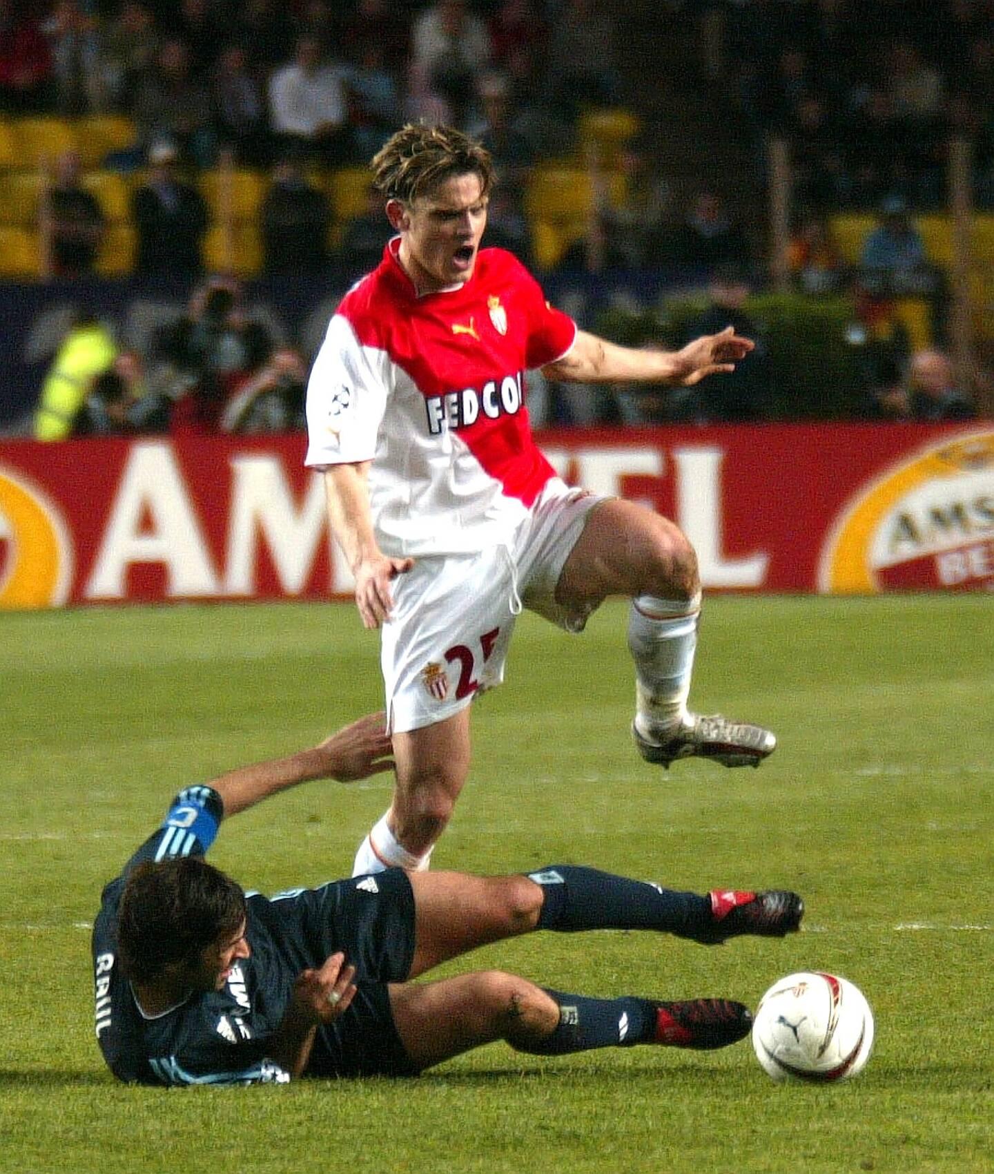 2002-2004: Jérôme Rothen au sommet de son art à Monaco, et dans le cœur des support