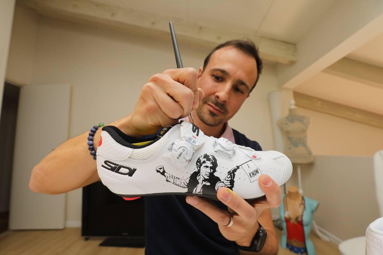 Vincent Carbonnet, méticuleux et créatif.