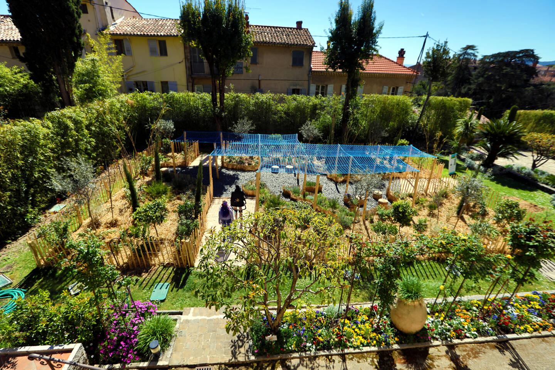 Un jardin à Grasse proposé à la visite lors de la précédente édition du Festival des jardins. (Photo Franz Chavaroche)