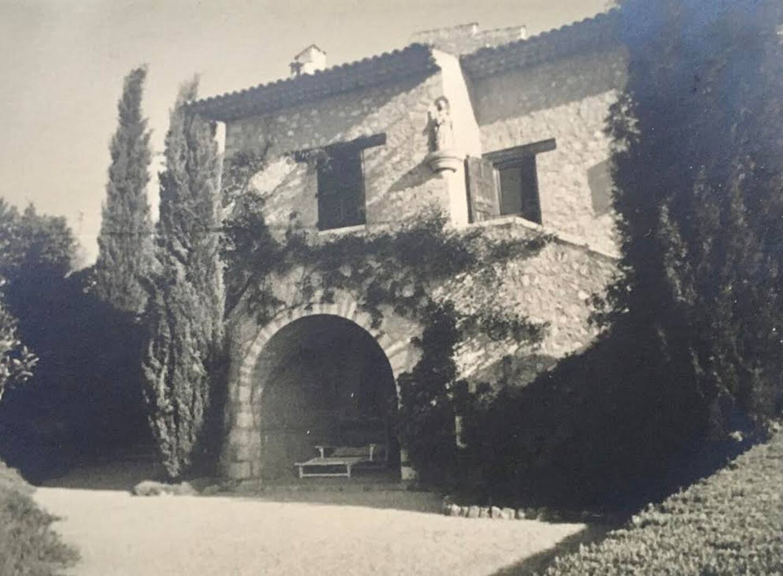 La villa du Cannet où le jeune Philippe de Grèce séjournait chez sa tante, la marquise Mountbatten