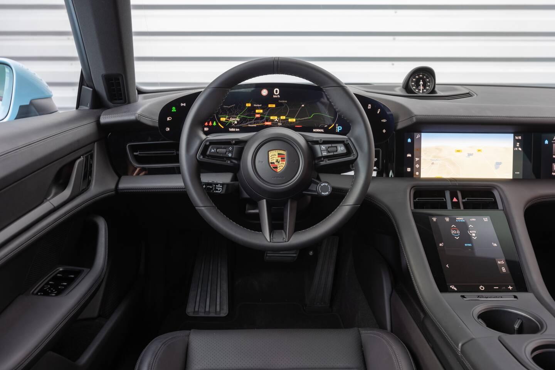 Un intérieur très Porsche.