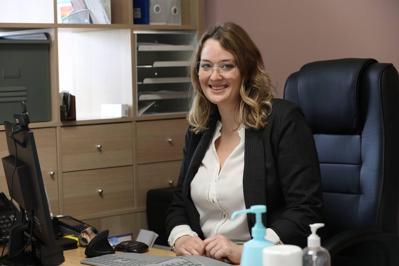 Margot Dupret, médecin et gérante de la MSP.