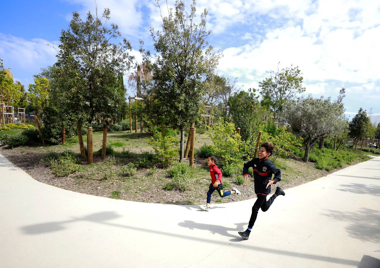 Le projet de quartier Parc Méridia devrait voir le jour à l'horizon 2032. Une partie du parc, qui en constituera la colonne vertébrale, existe déjà.