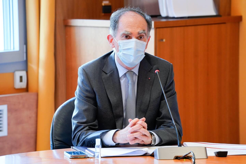 Jean Castellini, conseiller de gouvernement - ministre des Finances et de l'Économie.