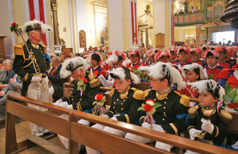 La messe des Mousquetaires devrait être maintenue le 17mai au matin, avec un deuxième office ouvert au public, à 11h.